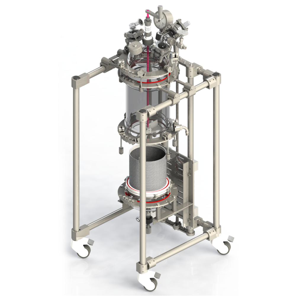 Glass Filter Reactor